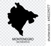 transparent   vector black map... | Shutterstock .eps vector #640229077
