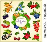 Wild Berries Poster Of Garden...