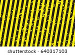 line yellow and black color... | Shutterstock .eps vector #640317103