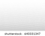 abstract halftone dotted... | Shutterstock .eps vector #640331347