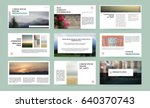 presentation templates. use in... | Shutterstock .eps vector #640370743