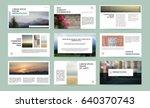original presentation templates.... | Shutterstock .eps vector #640370743