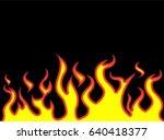 fire flames style cartoon | Shutterstock .eps vector #640418377
