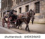 Horse Drawn Carriage In...