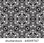 seamless ornamental pattern ... | Shutterstock .eps vector #64049767