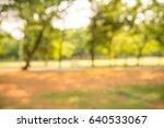 abstract blur city park bokeh...   Shutterstock . vector #640533067