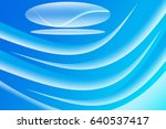 blue abstract background with... | Shutterstock . vector #640537417