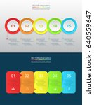 infographic templates for... | Shutterstock .eps vector #640559647