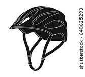 protective helmet for cyclists. ...   Shutterstock . vector #640625293