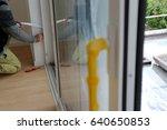 installing a window    Shutterstock . vector #640650853
