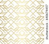 golden texture. seamless... | Shutterstock .eps vector #640674457