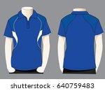 polo shirt design | Shutterstock .eps vector #640759483
