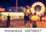 abstract blur image of theme... | Shutterstock . vector #640768417