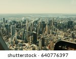 new york landscape view from... | Shutterstock . vector #640776397
