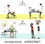 business teams waiting co...   Shutterstock .eps vector #640825867