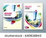 brochure template layout design.... | Shutterstock .eps vector #640828843