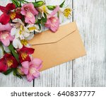 Blank Paper Envelope With...