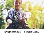 world environment day concept ...   Shutterstock . vector #640850857