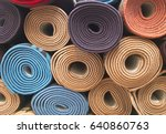 carpet roll | Shutterstock . vector #640860763