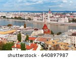 hungary. budapest. view on... | Shutterstock . vector #640897987