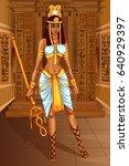 vector design of egyptian...   Shutterstock .eps vector #640929397