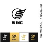 Business Wing Logo Icon....