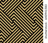 the geometric pattern with... | Shutterstock .eps vector #640941583