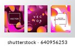 vector design template and... | Shutterstock .eps vector #640956253