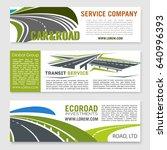 road and transportation...   Shutterstock .eps vector #640996393