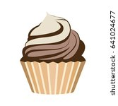 cupcake icon | Shutterstock .eps vector #641024677