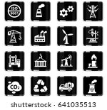 industry web icons for user... | Shutterstock .eps vector #641035513