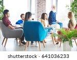 photography of business talks... | Shutterstock . vector #641036233