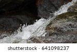 Water Flowing Through Granite...