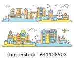 vector colorful illustration of ... | Shutterstock .eps vector #641128903