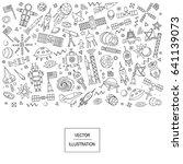 cartoon vector illustration of... | Shutterstock .eps vector #641139073