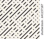 irregular maze shapes tiling... | Shutterstock .eps vector #641157187
