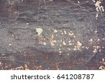texture of old painted wall in... | Shutterstock . vector #641208787