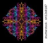 vector illustration isolated.... | Shutterstock .eps vector #641268187