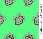 pattern. background texture.... | Shutterstock .eps vector #641269627