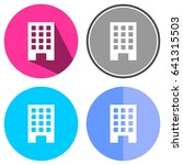 icons building for web  mobile... | Shutterstock .eps vector #641315503