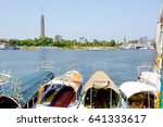 Tourist Boats On The Nile And...