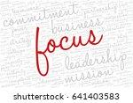 conceptual vector of tag cloud... | Shutterstock .eps vector #641403583