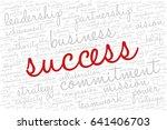 conceptual vector of tag cloud... | Shutterstock .eps vector #641406703