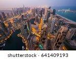 Dubai Skyline  Skyscrapers....