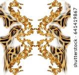 leopard  baroque   Shutterstock . vector #641419867