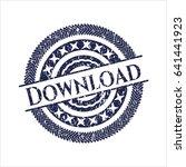 blue download distress grunge...