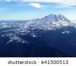Mount Rainier From The Sky