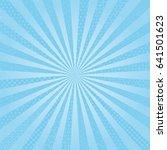 light blue radial background... | Shutterstock .eps vector #641501623