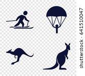jump icons set. set of 4 jump...   Shutterstock .eps vector #641510047