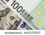 Background Of The Money. Euro...